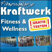 Wenn Sie hier klicken gelangen Sie zu Webseite von der Fitnessanlage Kraftwerk.